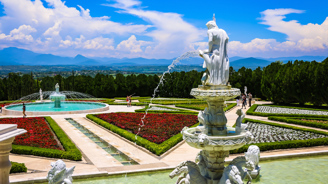 Jardines de m xico popurr de viajes for Jardines mexico
